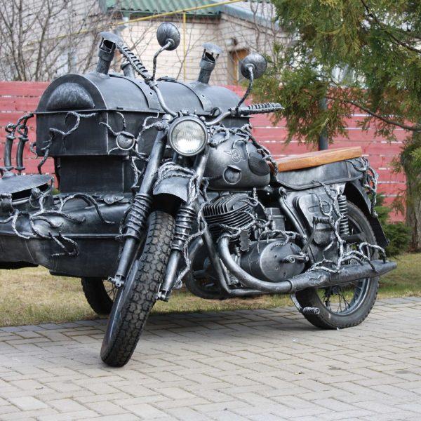 Šašlykinė motociklas